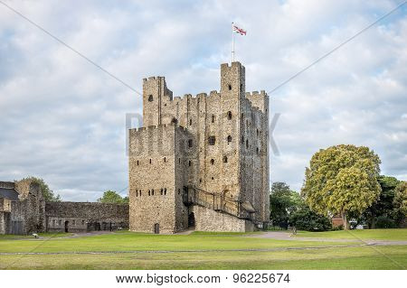 Rochester Castle in England