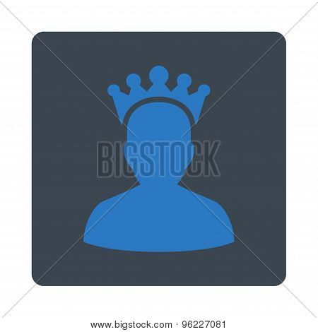 King icon from Award Buttons OverColor Set