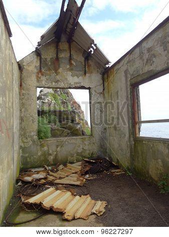 Derelict Coastal Building