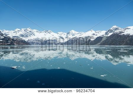 Sailing through Glacier Bay