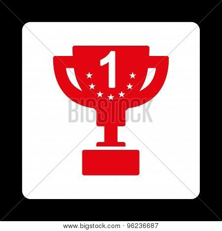 First prize icon from Award Buttons OverColor Set