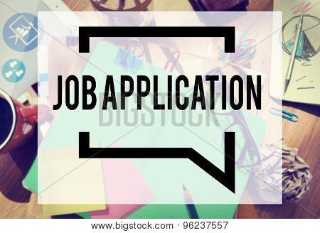 Job Application Career Hiring Employment Concept