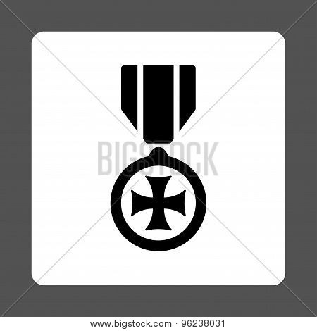 Maltese cross icon from Award Buttons OverColor Set