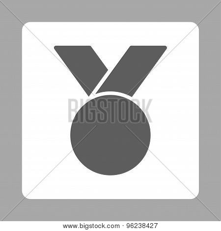 Army medal icon from Award Buttons OverColor Set