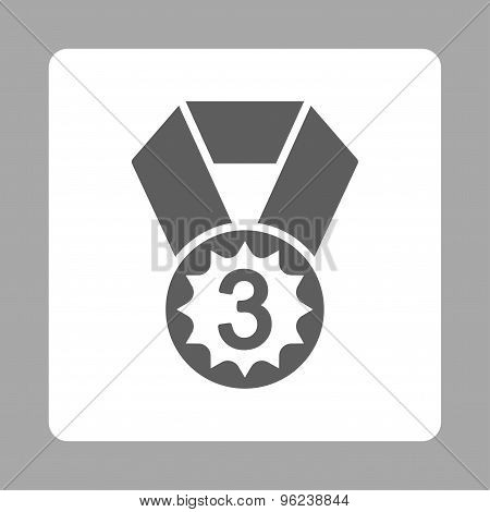 Third place icon from Award Buttons OverColor Set