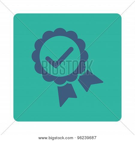 Approved icon from Award Buttons OverColor Set
