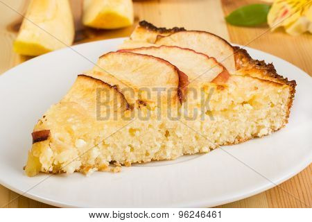 Apples Pie On A Plate