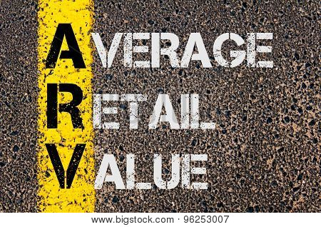 Business Acronym Arv As Average Retail Value