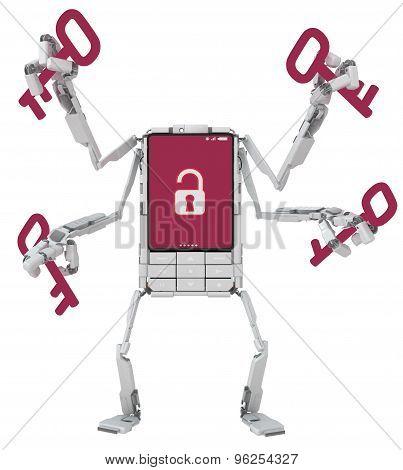 Phone Robot, Unlocked