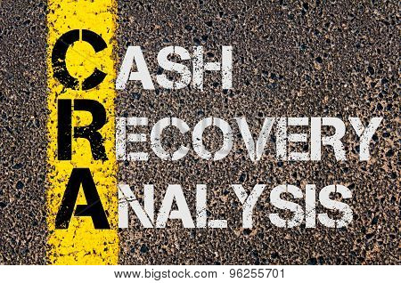 Business Acronym Cra As Cash Recovery Analysis