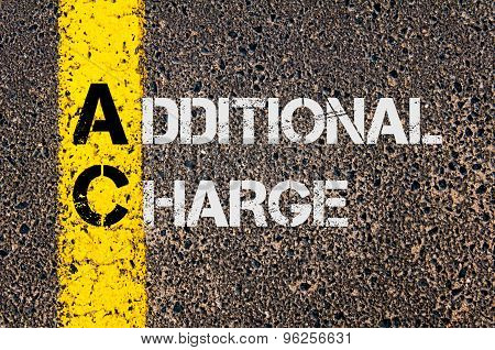 Business Acronym Ac As Additional Charge