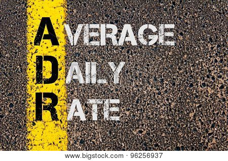 Business Acronym Adr As Average Daily Rate