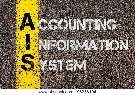 Business Acronym Ais As Accounting Information System