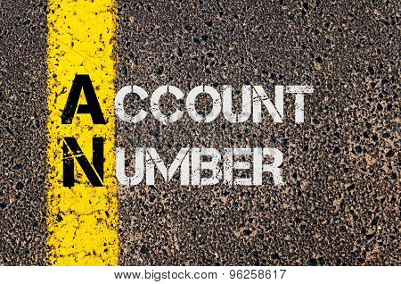 Business Acronym An As Account Number