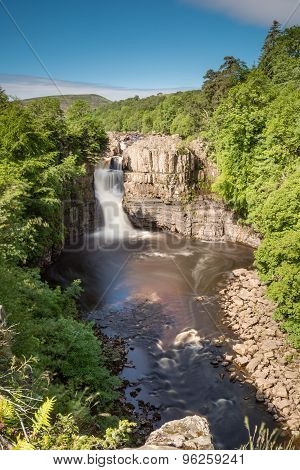 Long Exposure Of High Force Portrait