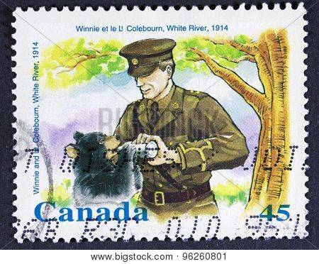 Postage stamp from canada.
