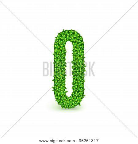 Green Leaves font O.
