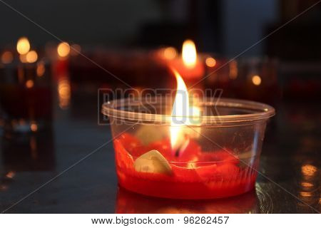 Candle for Thai Ceremony