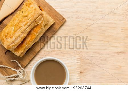 Snack With Coffee / Snack With Coffee Background