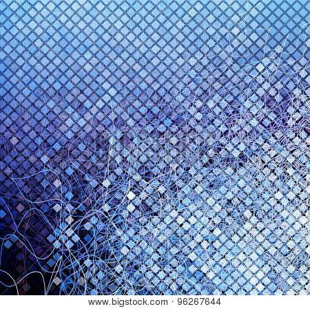 Blue Mosaic01