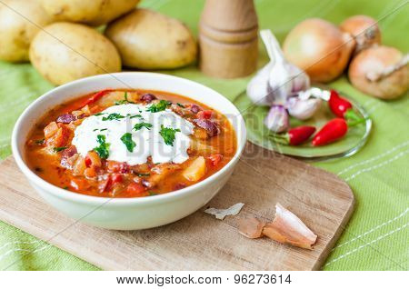 Bean goulash