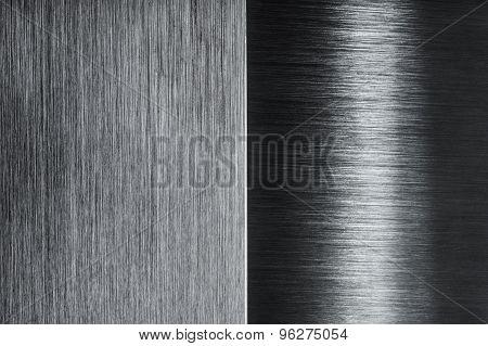 brushed metal contrast design background
