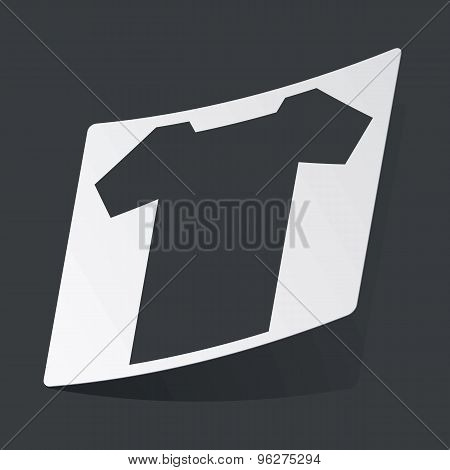 Monochrome T-shirt sticker