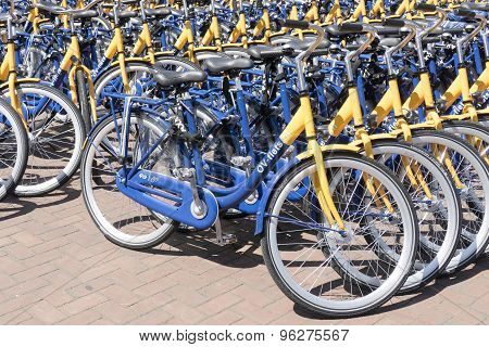 Ov Rent Bikes From The Dutch Railways.