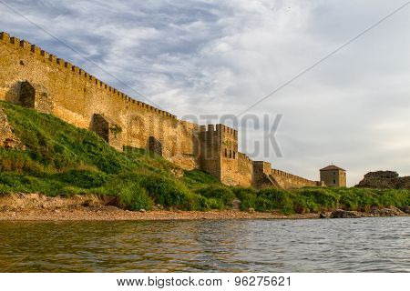 Citadel On The Dniester Estuary.