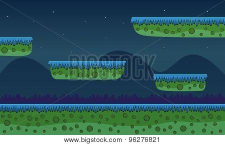 Game Background - Night