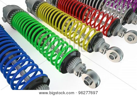 Set Of Shock Absorbers