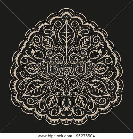 Folk intricate ornament