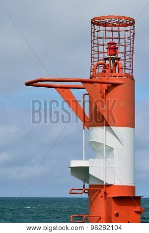 Lighthouse In Resort Town Pionersky, Kaliningrad Region, Russia