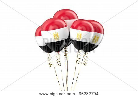 Egypt Patriotic Balloons,  Holyday Concept