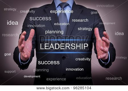 Leadership Between Two Hand