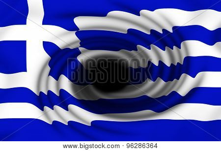 Greek Flag Twirl