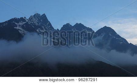 High Mountain Khumbi Yul Lha