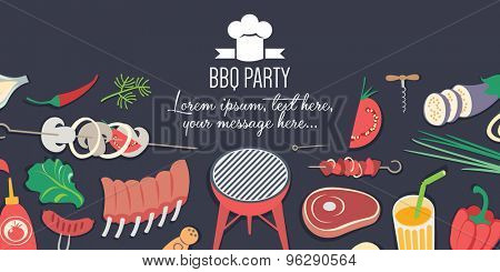 BBQ Party banner