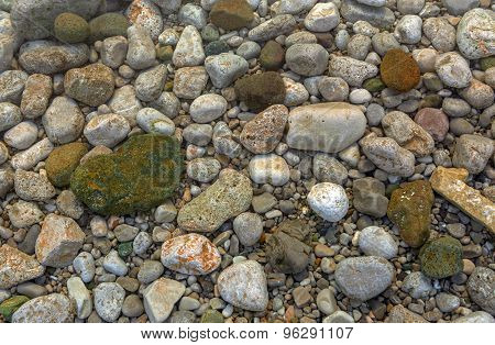 Rocks and Stones as a Background