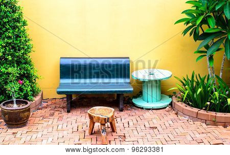 Outdoor Garden Setting