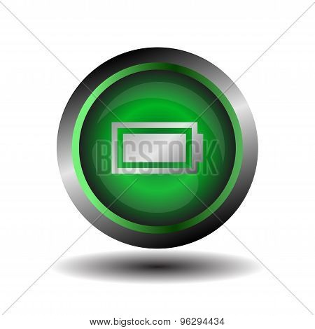 Battery icon vector. Set of battery charge level indicators. Vector illustration.