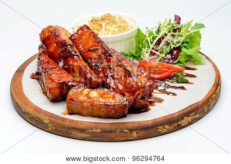 Fried ribs