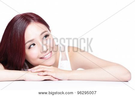 Charming Woman Smile Face