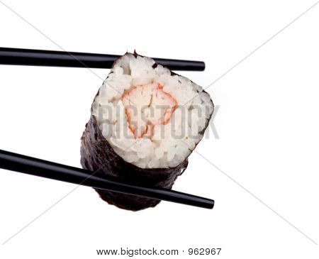 Food - Sushi And Chopsticks