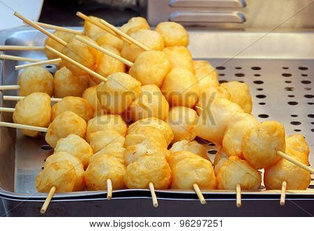 Fried Chinese Fish Balls