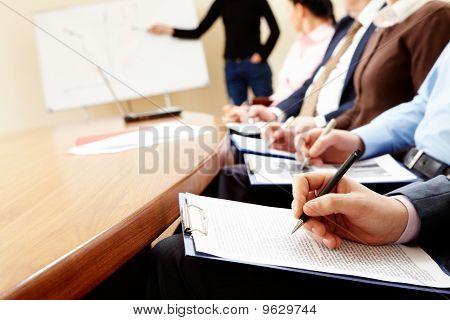 Seminário de negócios