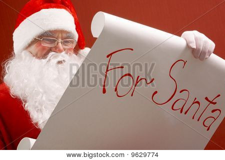 Reading Santa