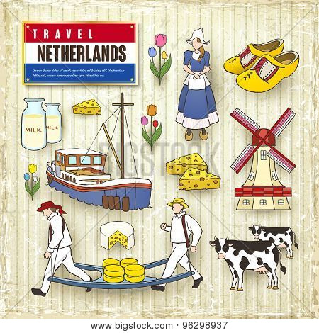 Travel Concept Of Netherlands