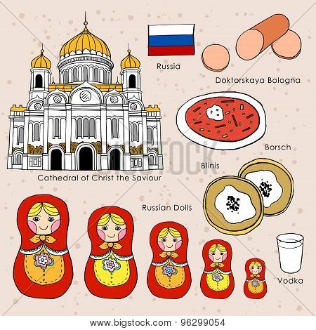 Travel Concept Of Russia