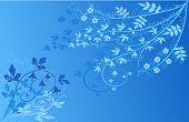 Floral Background - Illustration
